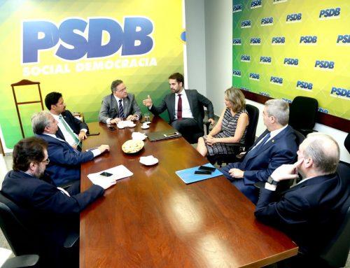 Senado: bancada do PSDB se reúne com governador do RS para discutir reformas