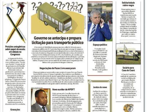 Correio Braziliense: Izalci vai presidir Comissão