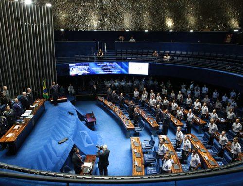 Polícia Militar do DF recebe homenagem do Senado Federal pelos seus 210 anos
