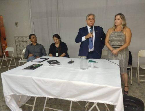 Izalci participa da posse da nova diretoria da prefeitura do Guará Park