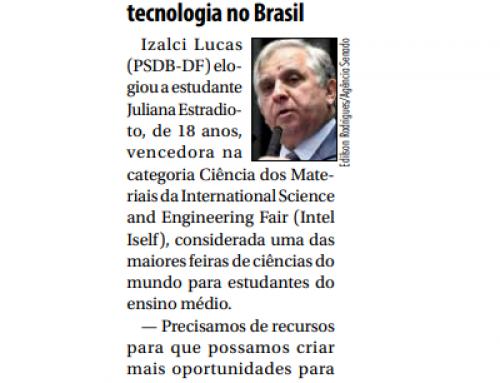 Izalci Lucas pede mais recursos para ciência e tecnologia no Brasil