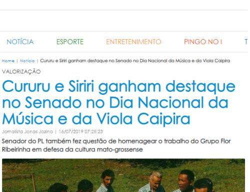 24horas News : Cururu e Siriri ganham destaque no Senado no Dia Nacional da Música e da Viola Caipira