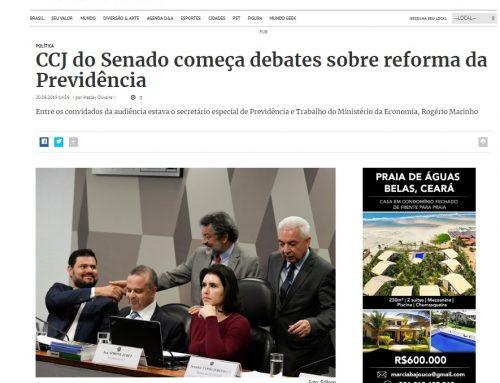 Destak: CCJ do Senado começa debates sobre reforma da Previdência
