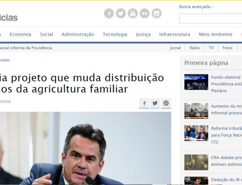 Senado Notícias – CDR avalia projeto que muda distribuição de recursos da agricultura familiar