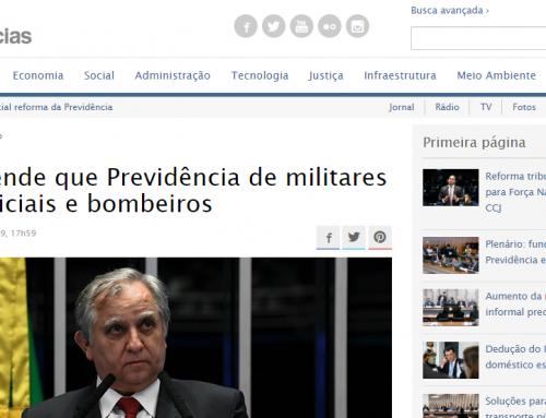 Senado Notícias – Izalci defende que Previdência de militares inclua policiais e bombeiros