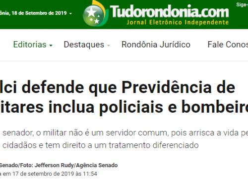 TudoRondodia.com – Izalci defende que Previdência de militares inclua policiais e bombeiros
