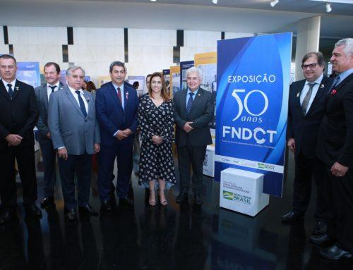 50 anos do FNDCT é celebrado com exposição de fotos de projetos no Congresso Nacional