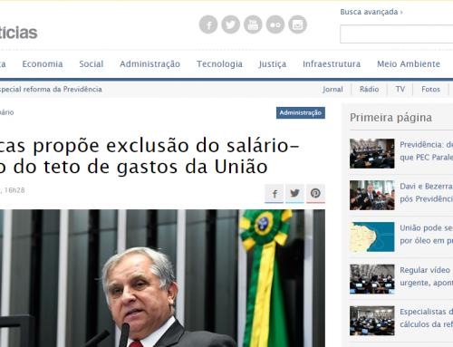 Senado Notícias: Izalci Lucas propõe exclusão do salário-educação do teto de gastos da União