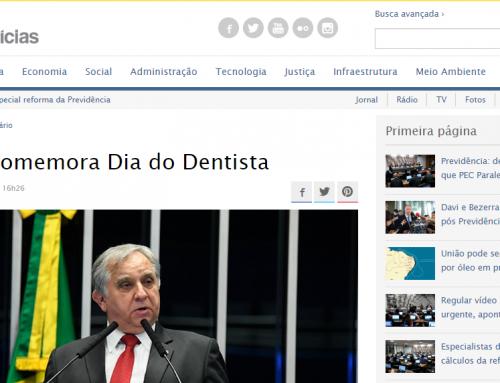 Senado Notícias: Senado comemora Dia do Dentista