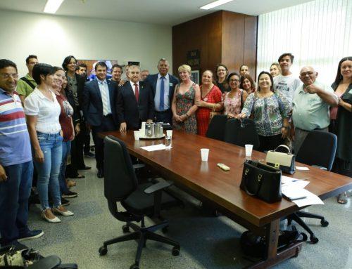Privatização da rodoviária é tema de encontro entre comerciantes e o senador Izalci