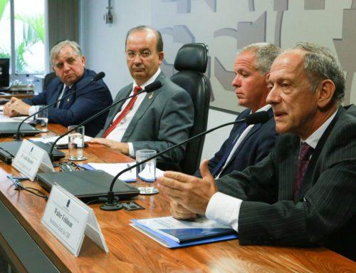 CPI da Chapecoense ouve representantes da CBF e da empresa OFF Side, no Senado