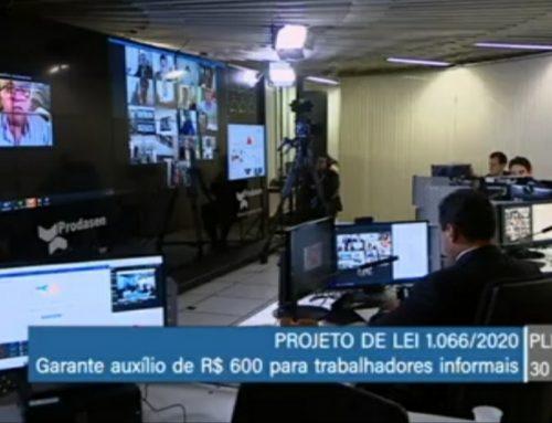 Senado aprova auxílio emergencial de R$600 para trabalhador informal