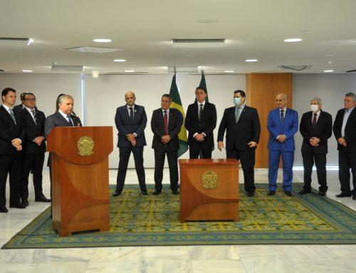 Presidente da República assina MP do reajuste das forças de segurança do DF